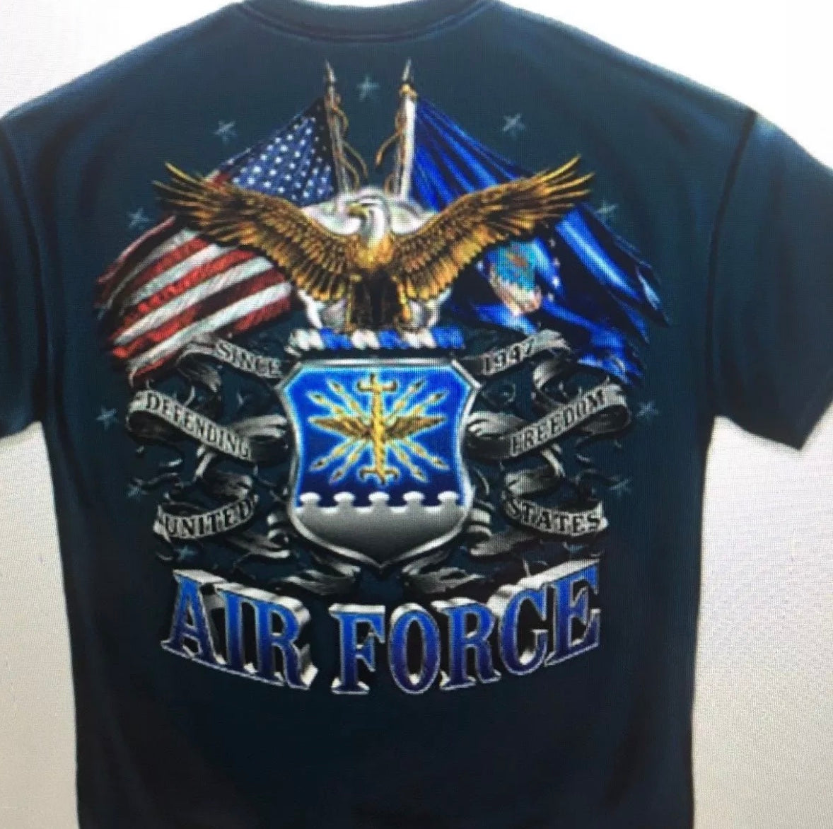 Airforce 2 Flag T-Shirt - The Wall Kids, Inc.