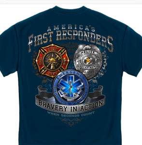 First Responder T-Shirts - The Wall Kids, Inc.
