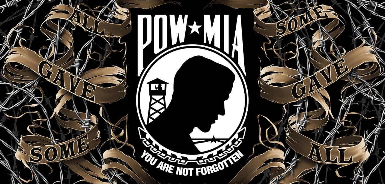 POW. MIA You Are Not Forgotten Beach Towel - The Wall Kids, Inc.