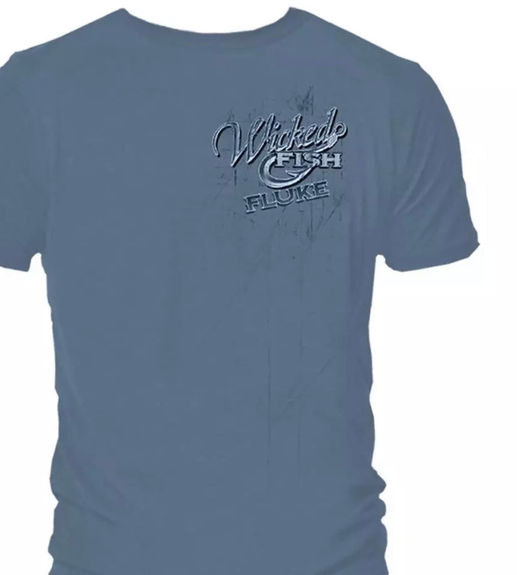 Fluke Fishing T-Shirt - The Wall Kids, Inc.