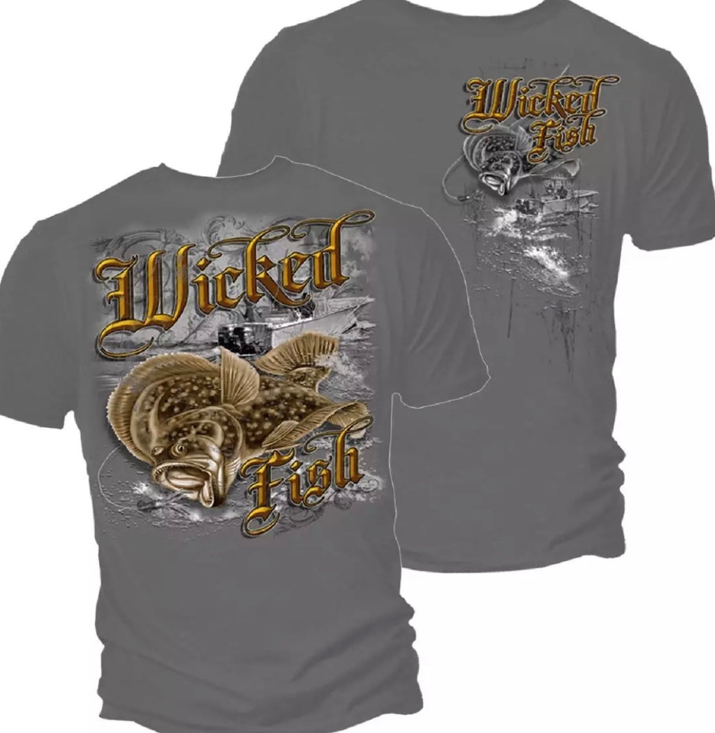 Fluke Fishing Shirt - The Wall Kids, Inc.