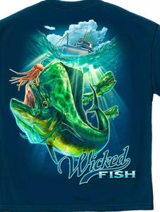 Mahi Mahi Fishing Shirt - The Wall Kids, Inc.