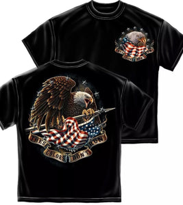 These Colors Don't Run Eagle Patriotic - The Wall Kids, Inc.