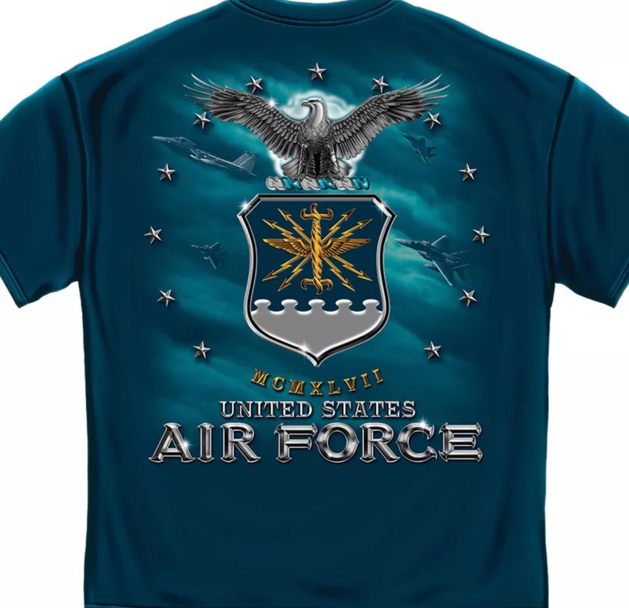 Air Force Missile T-Shirt - The Wall Kids, Inc.