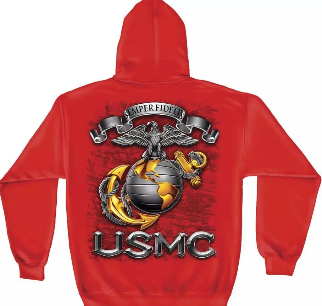 Marine Red Sweatshirt - The Wall Kids, Inc.