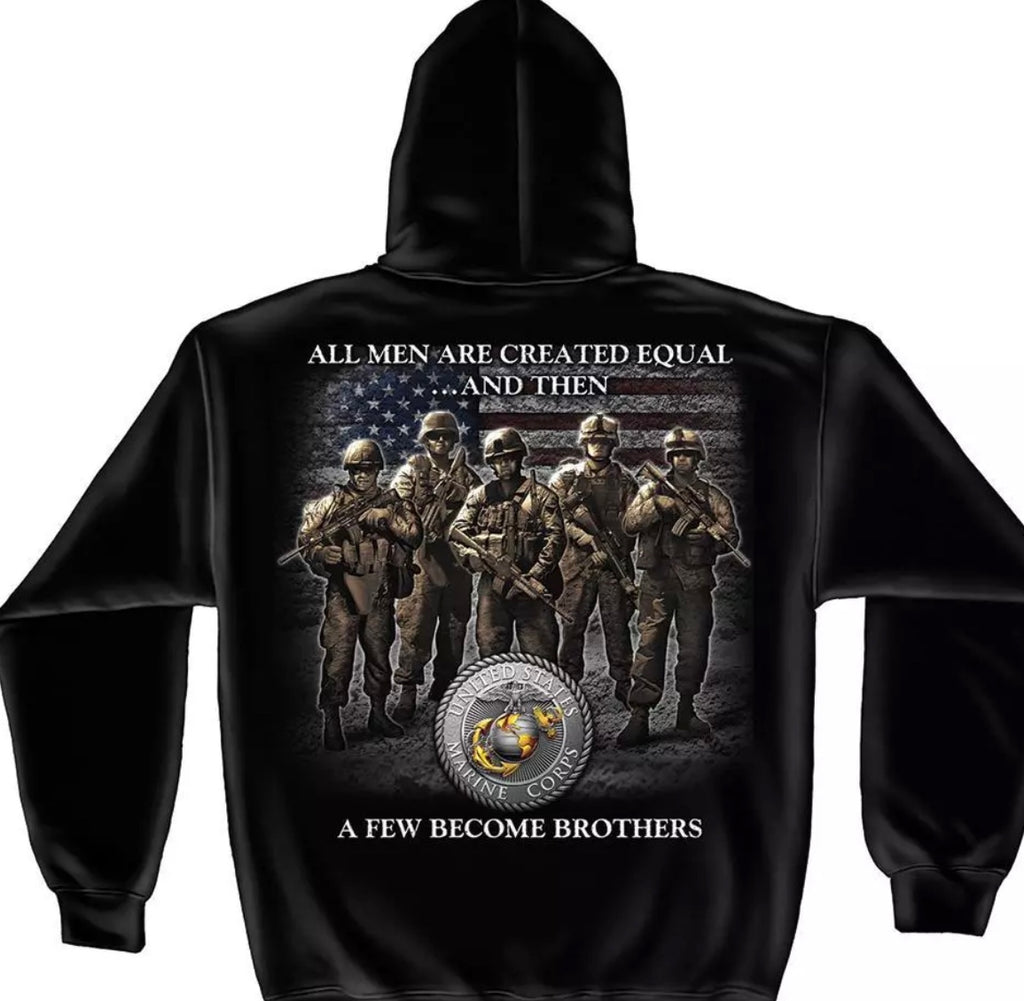 Marine Brother's Sweatshirt - The Wall Kids, Inc.