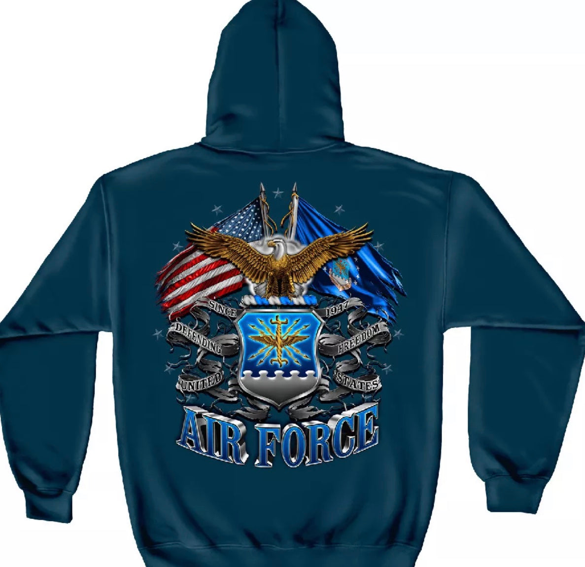 Airforce 2 Flag Sweatshirt - The Wall Kids, Inc.