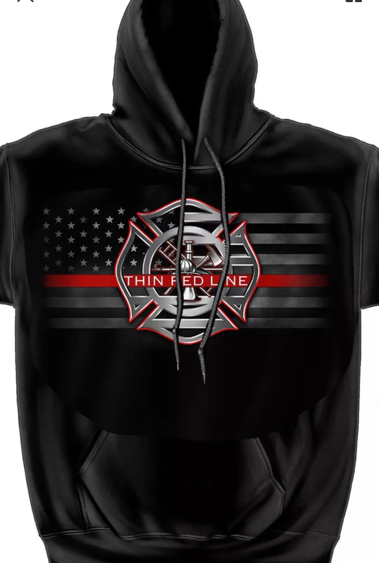 Stand For The Flag Kneel For The Fallen Firefighter Sweatshirt - The Wall Kids, Inc.
