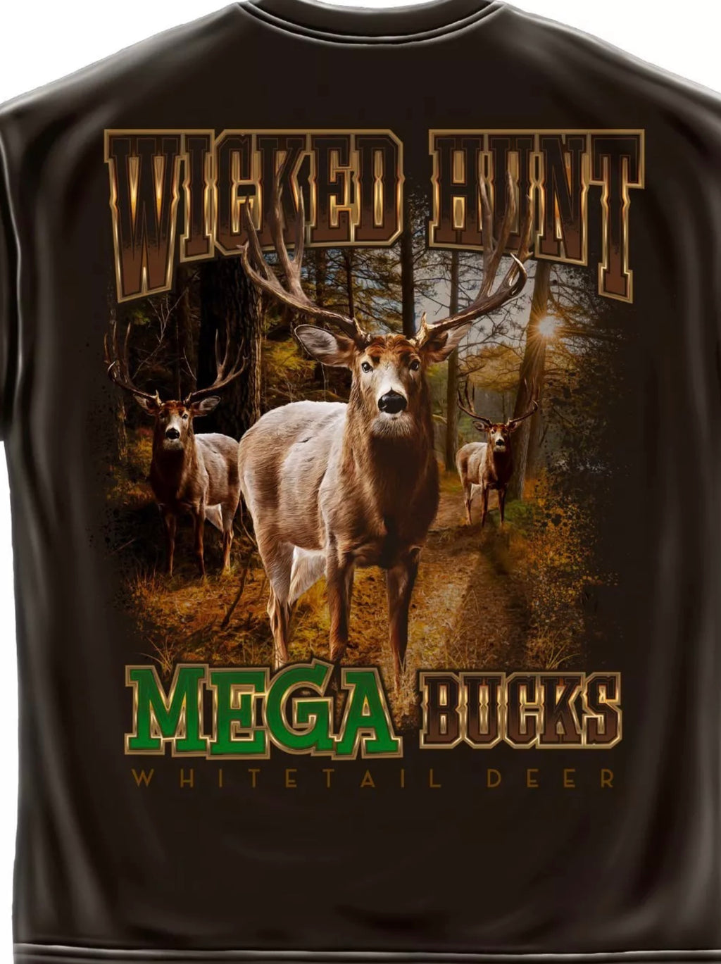 Deer Hunting Mega Bucks T-Shirts - The Wall Kids, Inc.