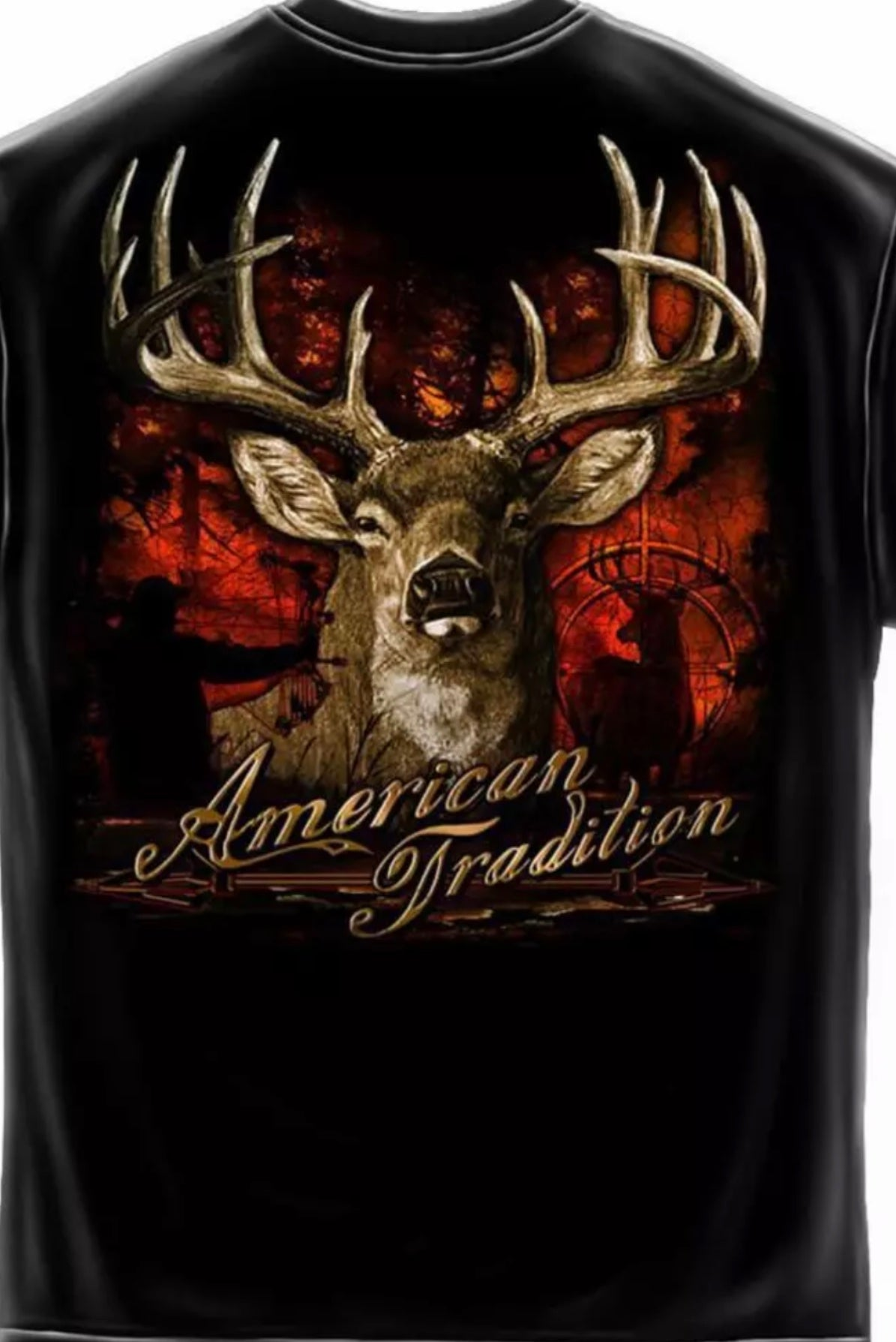Deer Hunting American Tradition Bow T Shirt - The Wall Kids, Inc.