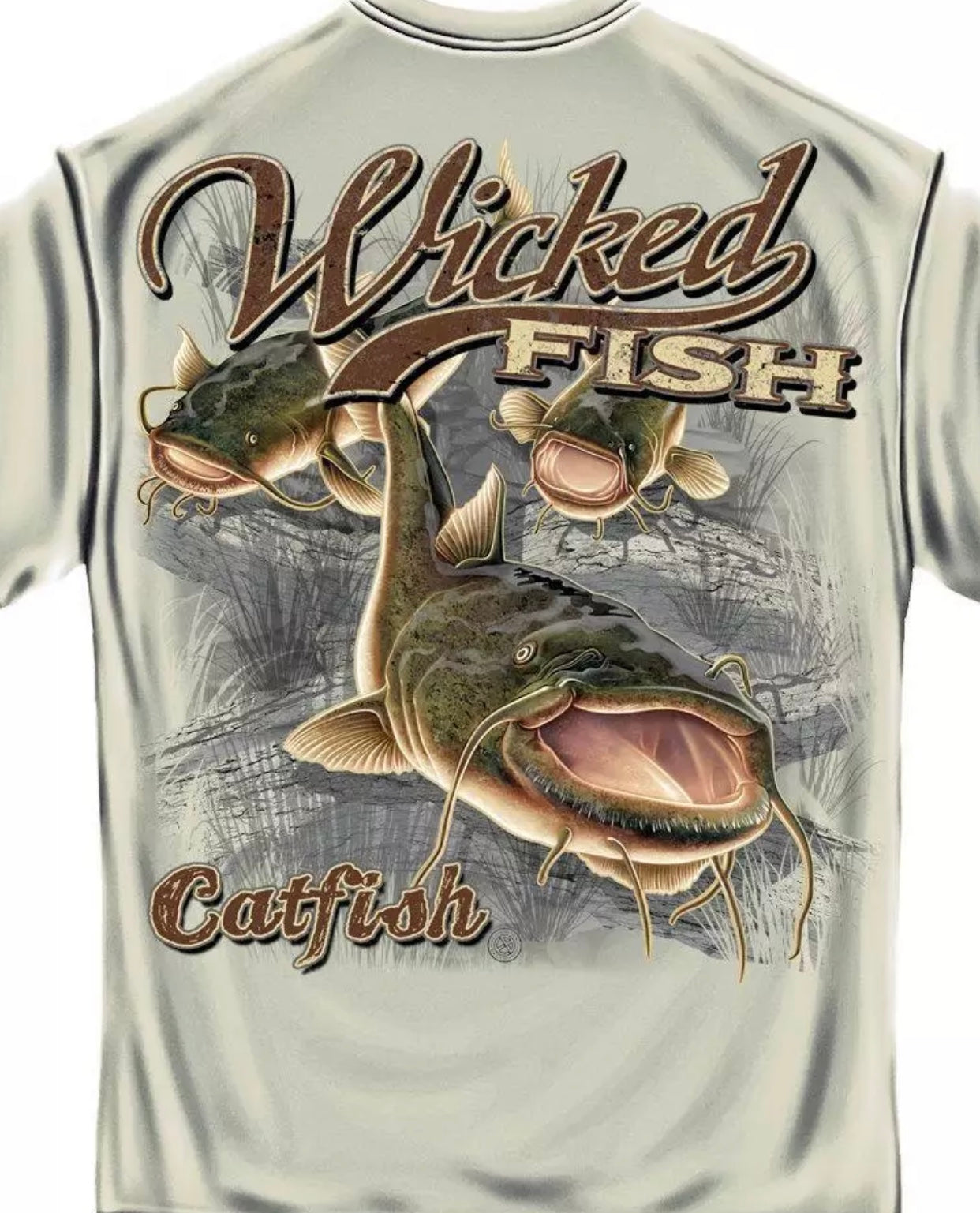 Catfish Fishing T-Shirt
