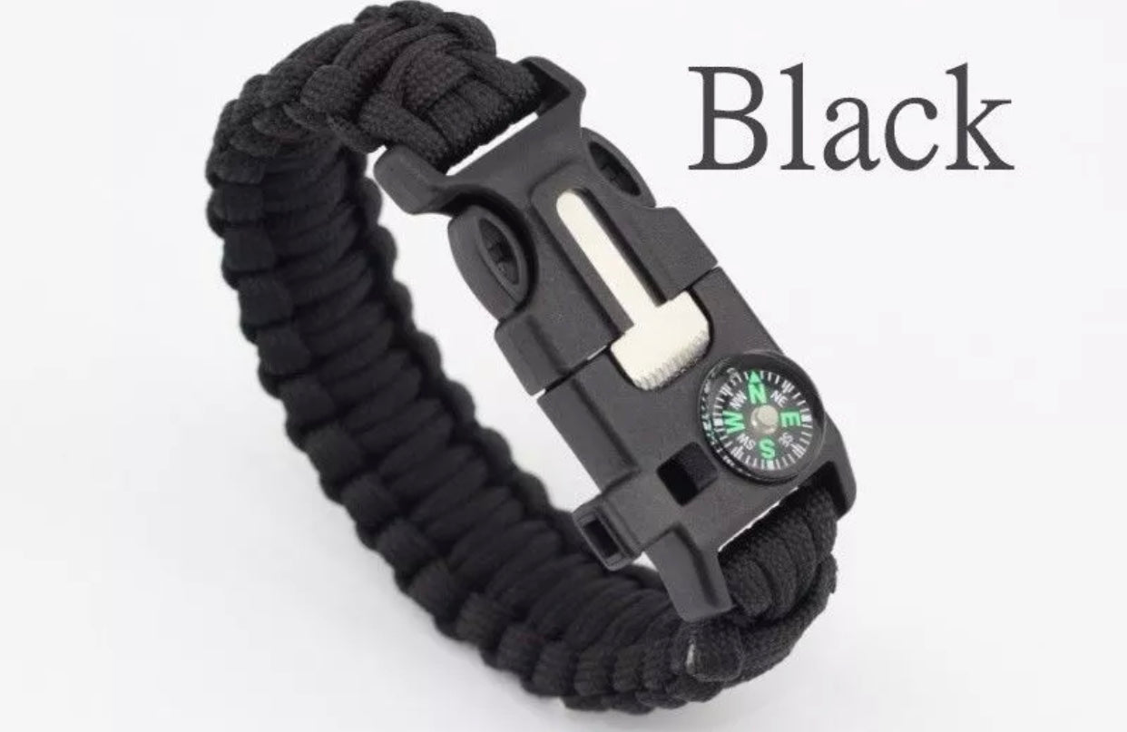 Survival Force Paracord Emergency Survival Bracelet - The Wall Kids, Inc.