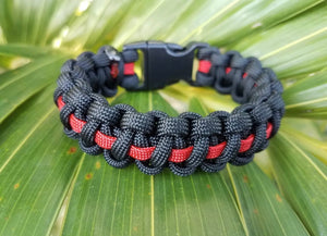 Thin red line bracelet - The Wall Kids, Inc.