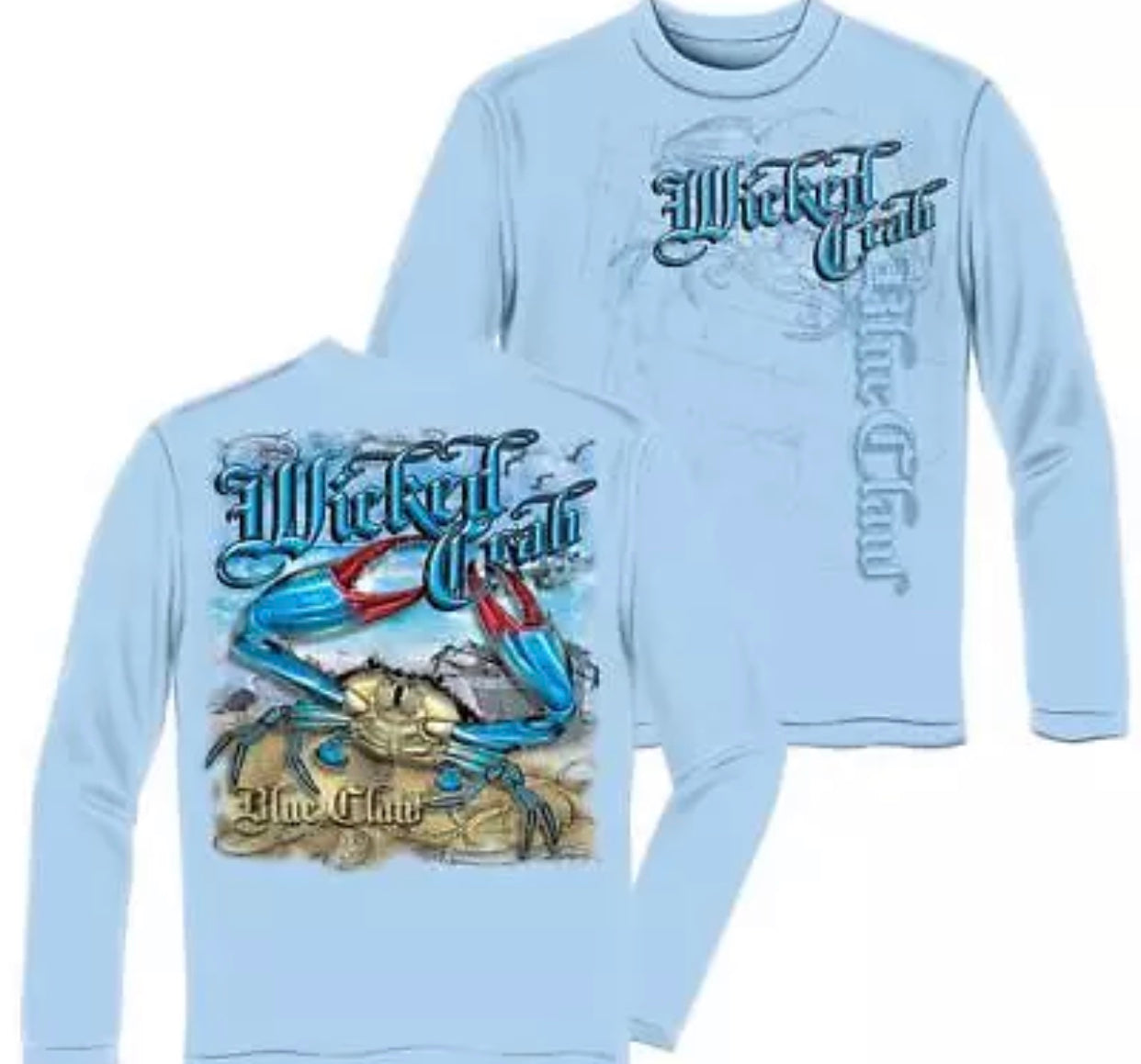 Crab Long Sleeve T Shirt - The Wall Kids, Inc.