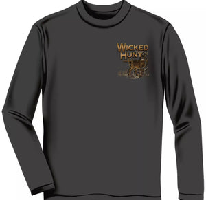 Deer Hunting The Buck Stops Here Long Sleeve T Shirt - The Wall Kids, Inc.