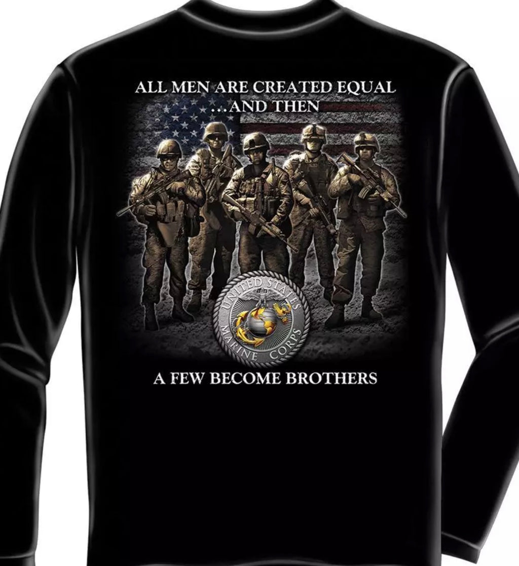 Marine Brother's Long Sleeve T-Shirt - The Wall Kids, Inc.