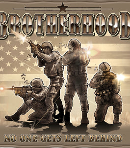 Brotherhood 50X60 Fleece Blanket - The Wall Kids, Inc.