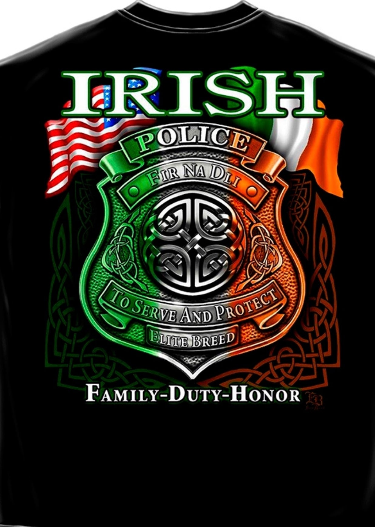 Irish Police T Shirt - The Wall Kids, Inc.