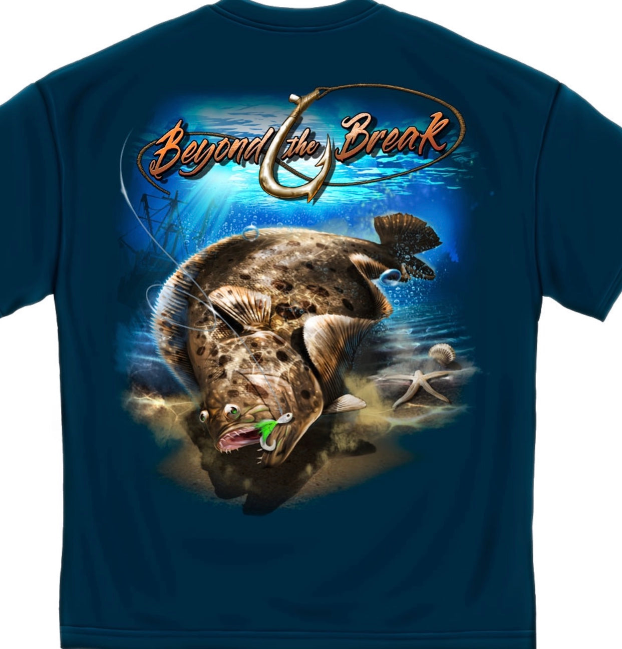 Beyond The Break Fluke T Shirt - The Wall Kids, Inc.