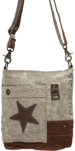 LEATHER STAR CROSSBODY - The Wall Kids, Inc.