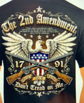 2nd Amendment Don't Tread on me T-shirt - The Wall Kids, Inc.
