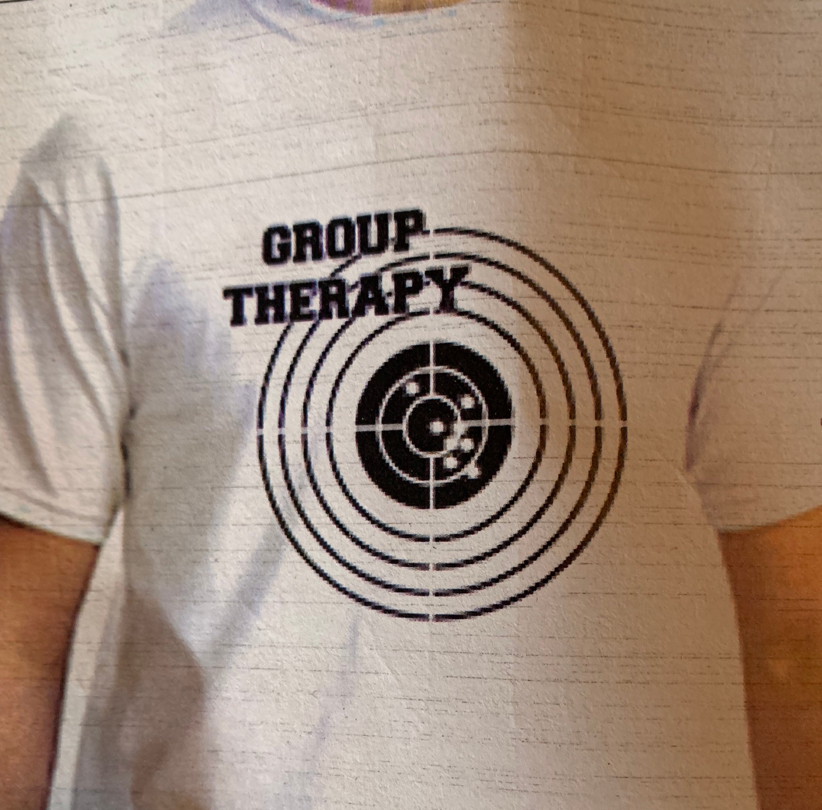 Group Therapy Gun Target T-Shirt - The Wall Kids, Inc.