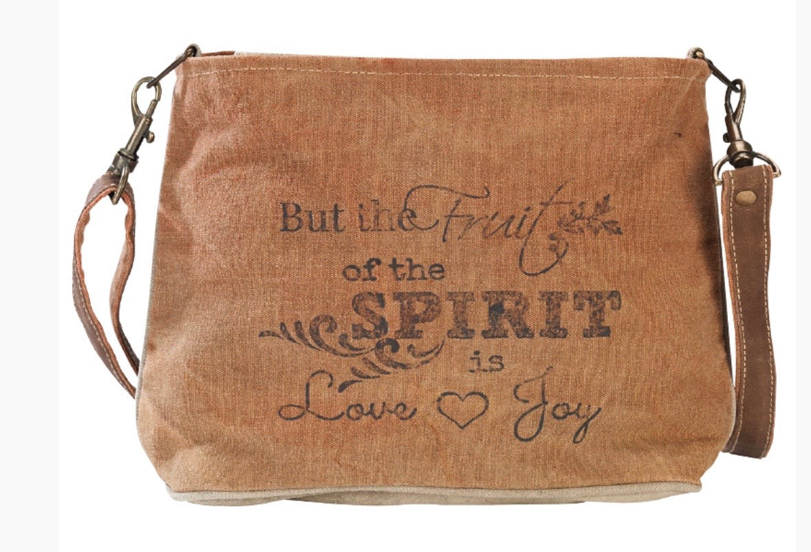 SPIRIT CANVAS CROSSBODY / SHOULDER BAG - The Wall Kids, Inc.