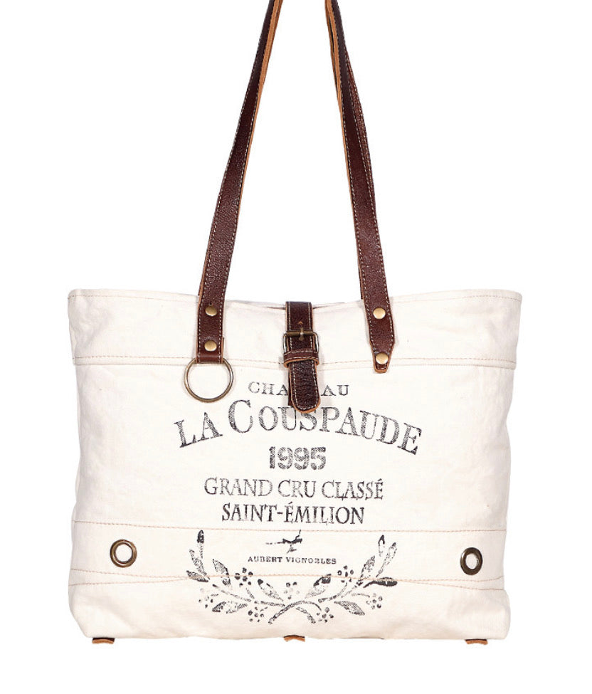 LA COUSPAUDE 1995 TOTE CANVAS BAG - The Wall Kids, Inc.
