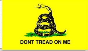 3X5 Don't Tread On Me Flag - The Wall Kids, Inc.