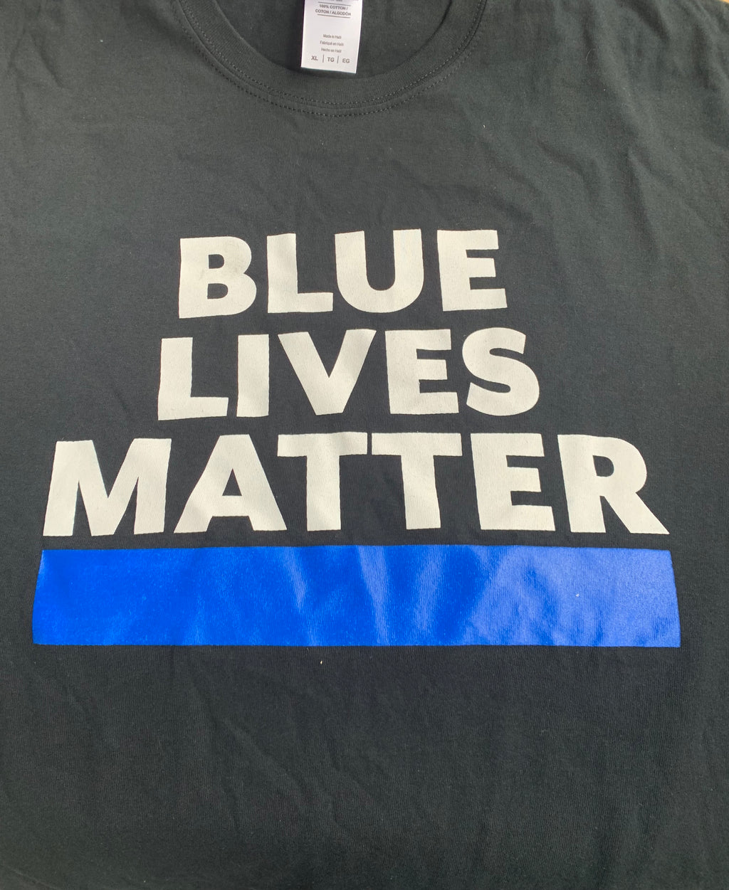 Blue Lives Matter - The Wall Kids, Inc.