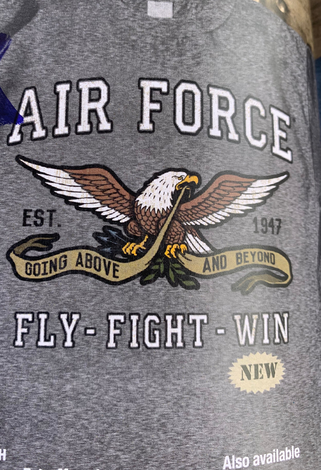 Air Force.  Fly. Fight. Win - The Wall Kids, Inc.
