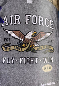 Air Force.  Fly. Fight. Win