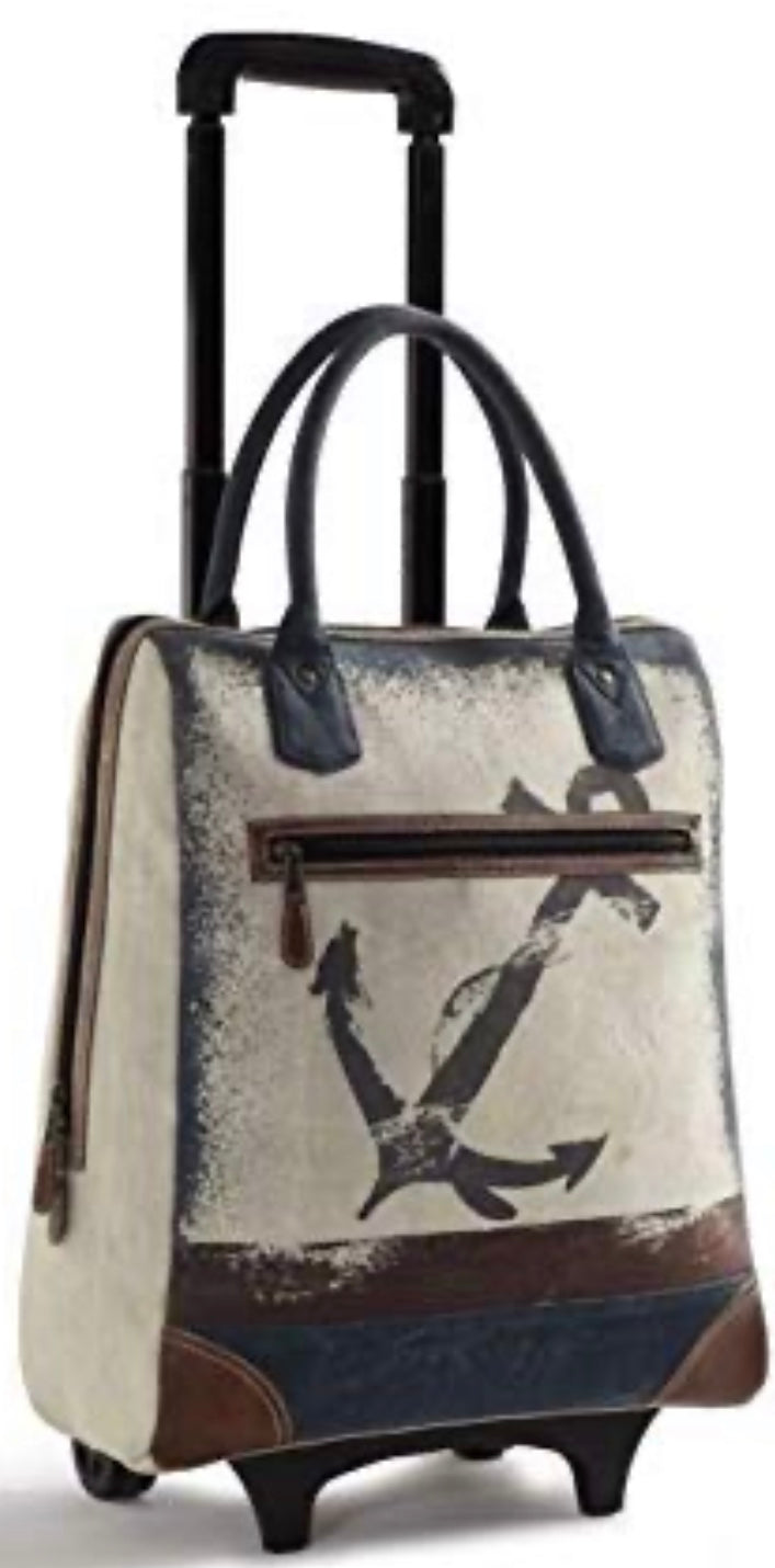 Recycled Canvas roller bag - The Wall Kids, Inc.