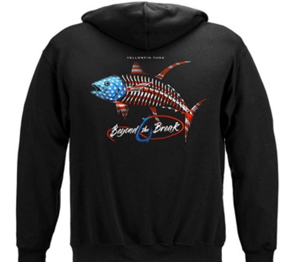 Patriotic Tuna Sweatshirt - The Wall Kids, Inc.