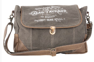 CACAO PAYPAUD MESSENGER BAG WITH STRAP - The Wall Kids, Inc.