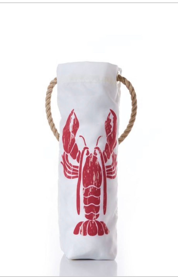 SEA BAGS LOBSTER POUND WINE BAG - The Wall Kids, Inc.