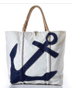 SEA BAG X-LARGE NAVY ANCHOR BAG - The Wall Kids, Inc.