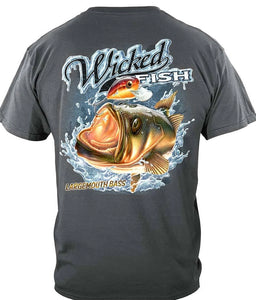 WICKED FISH LARGE MOUTH BASS - The Wall Kids, Inc.