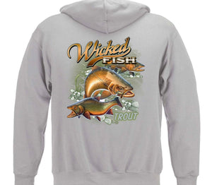 TROUT SWEATSHIRT - The Wall Kids, Inc.