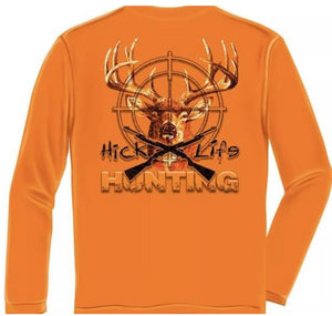 HICKS LIFE HUNTING LONG SLEEVE - The Wall Kids, Inc.