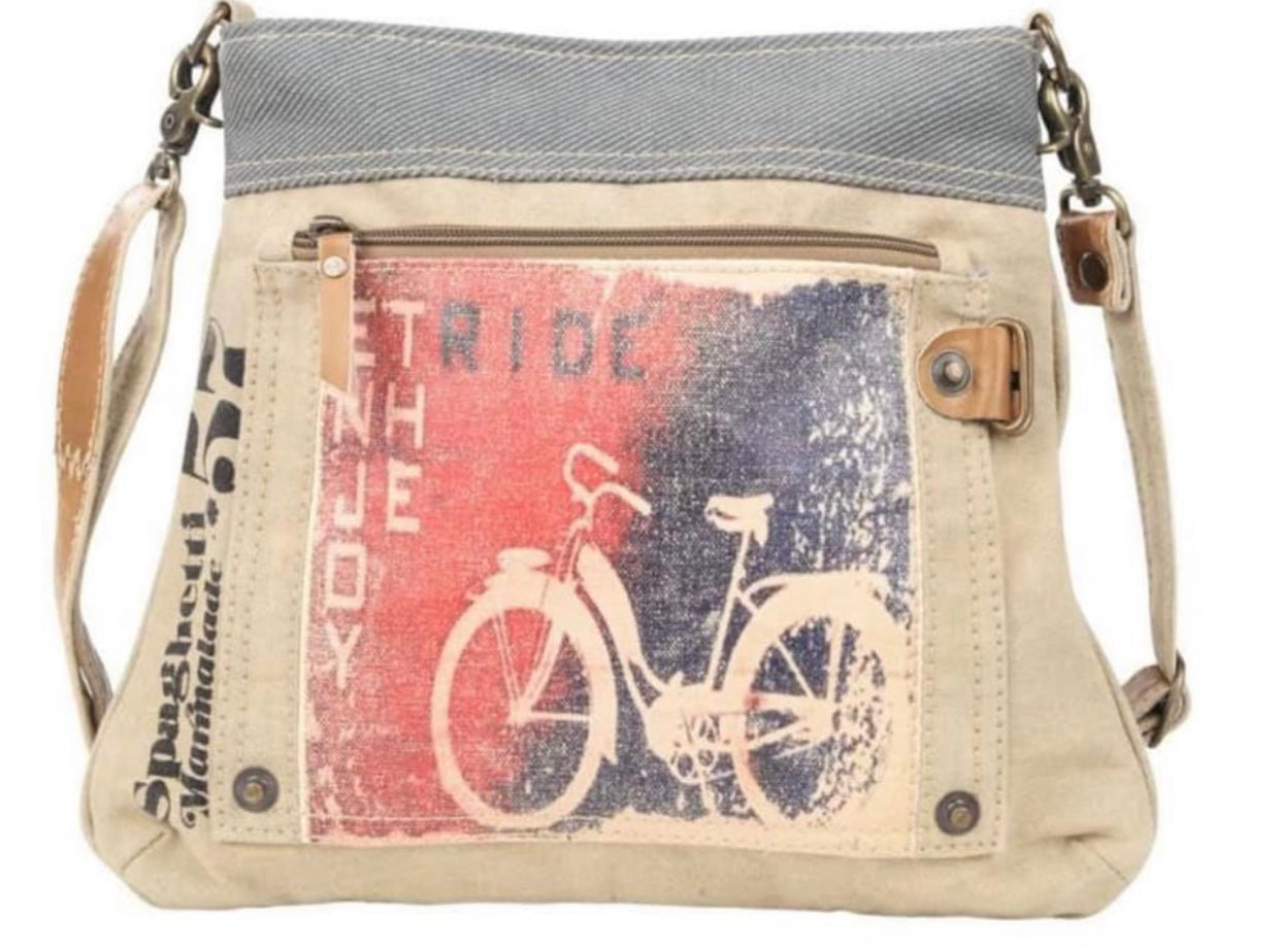RED BIKE CROSSBODY - The Wall Kids, Inc.