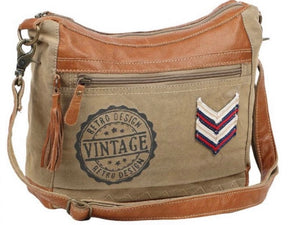 RETRO VINTAGE RECYCLED CROSSBODY - The Wall Kids, Inc.