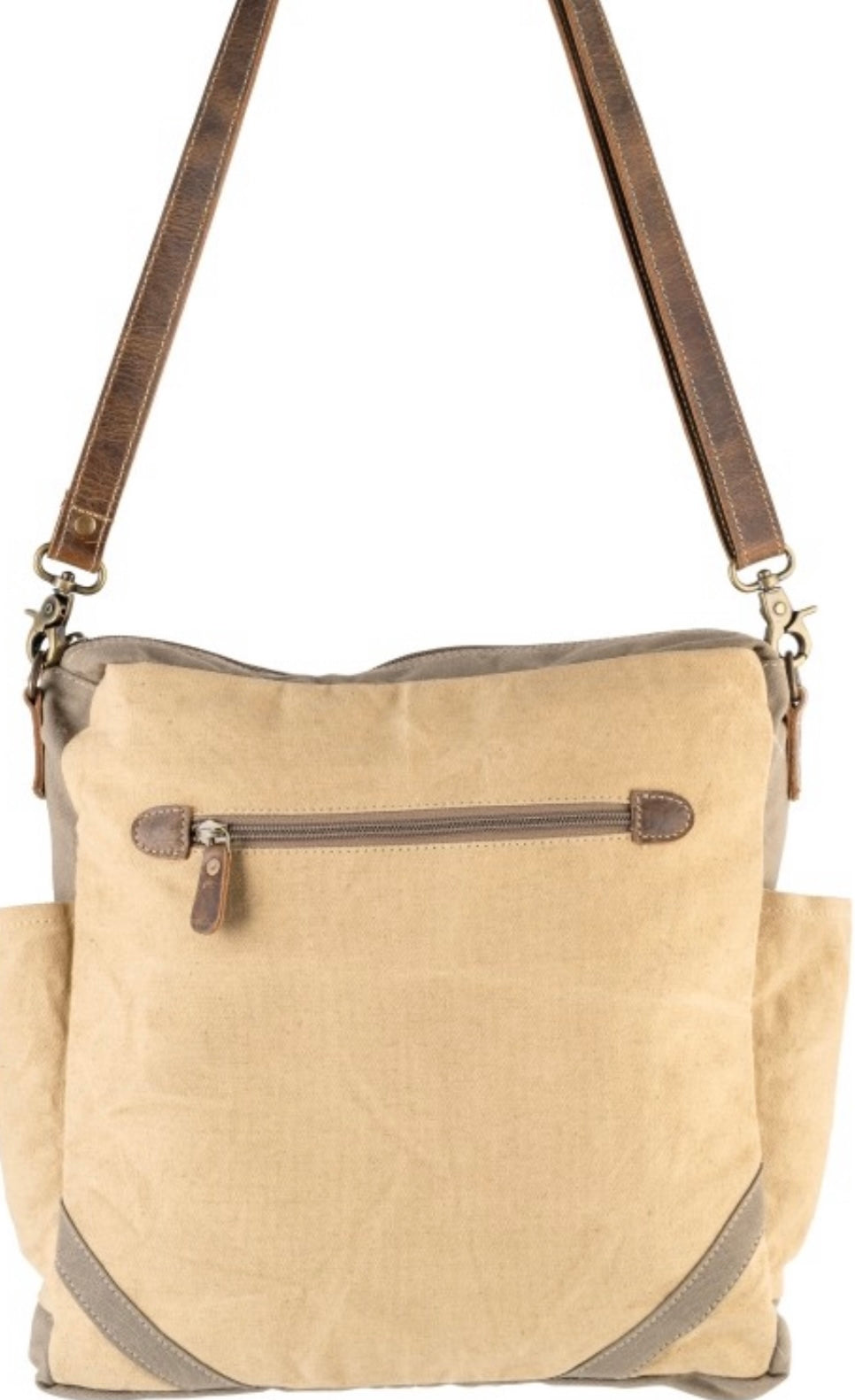 DARCY CANVAS SHOULDER BAG - The Wall Kids, Inc.
