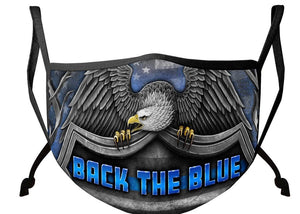 LAW ENFORCEMENT BACK THE BLUE VIRTUE RESPECT HONOR - The Wall Kids, Inc.