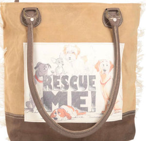 RESCUE ME TOTE BAG - The Wall Kids, Inc.