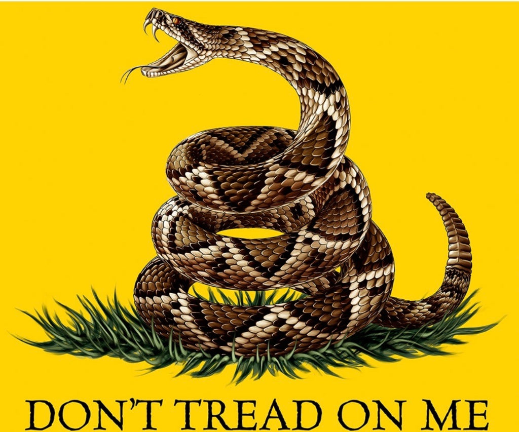 Don't Tread On Me Blanket - The Wall Kids, Inc.