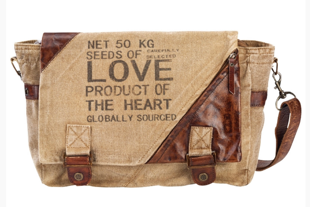 Seeds Of Love Messenger Bag - The Wall Kids, Inc.