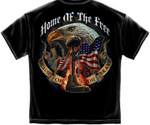 Home of The Free Because of the Brave T-Shirt - The Wall Kids, Inc.