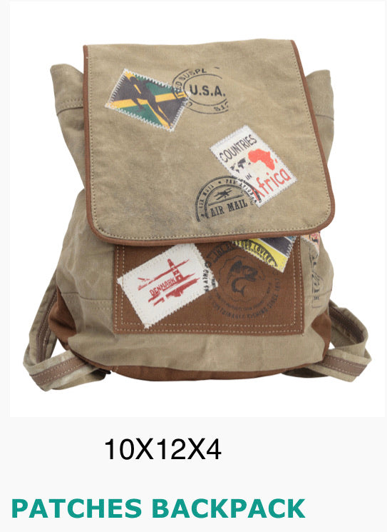 Patches backpack - The Wall Kids, Inc.
