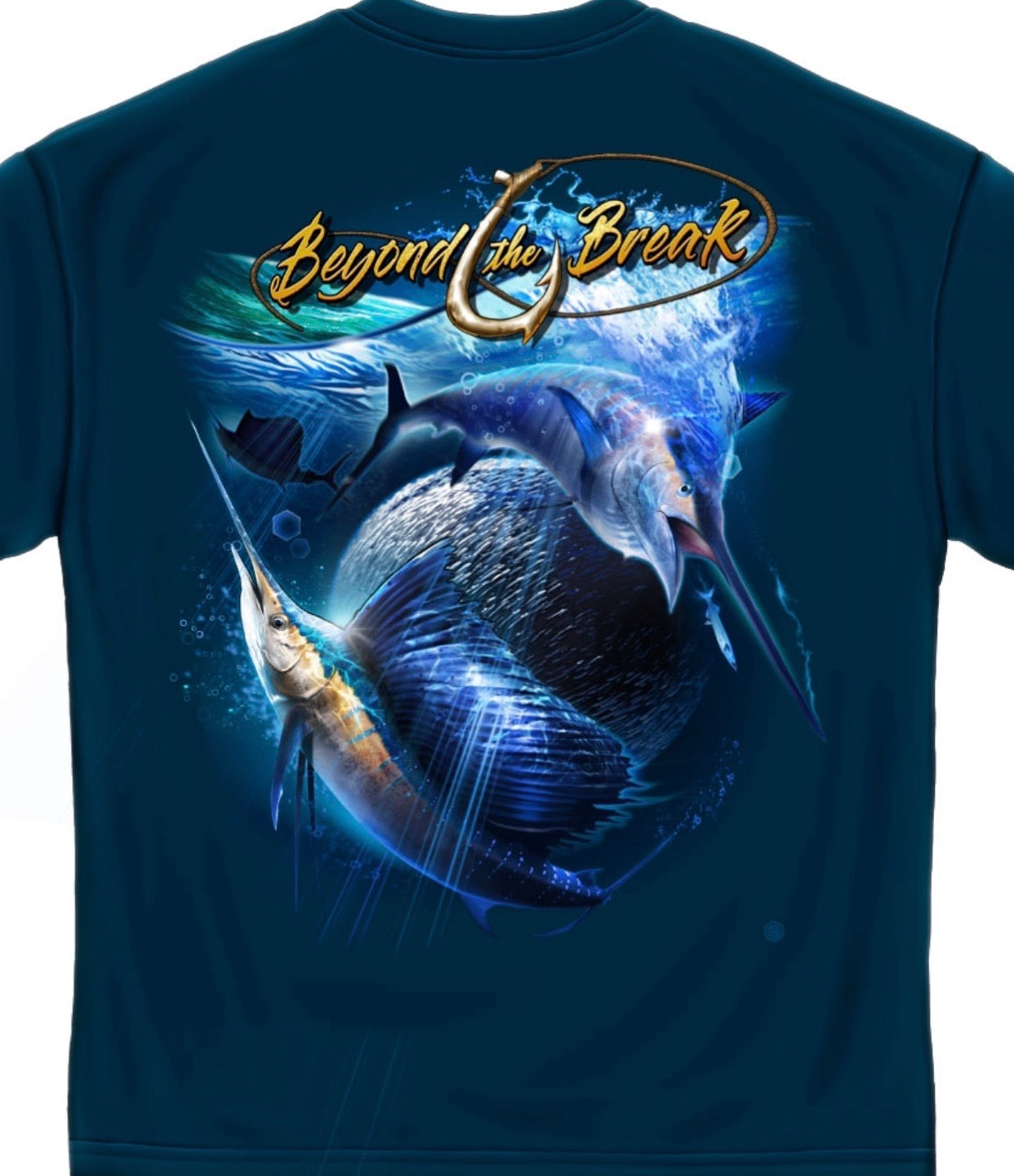 Beyond the break swordfish t shirt - The Wall Kids, Inc.